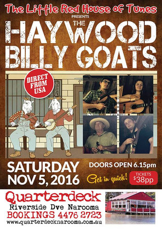 Haywood Billy Goats, Quarterdeck - Nov 5th