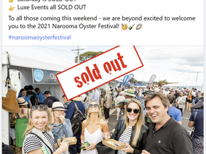 Narooma Oyster Festival 2021 SOLD OUT