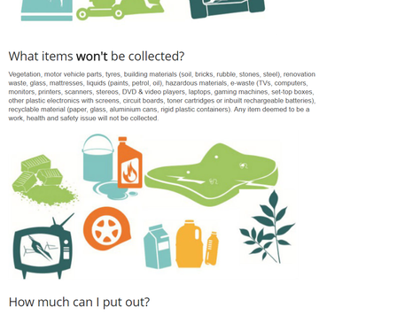 Get your junk out for hard waste collection