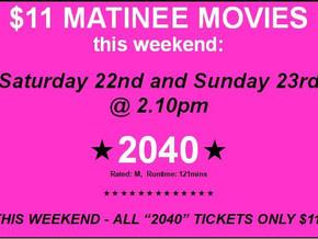 2040 the Documentary @ Narooma Kinema and Perry Street Cinemas