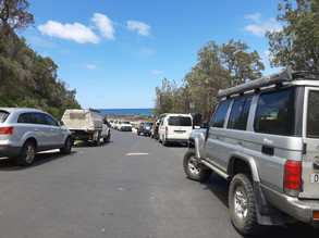 New parking arrangements at South Broulee Beach