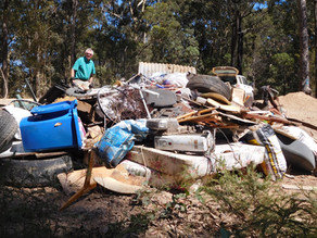 Volunteers spruce up shire