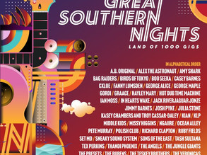 The South Coast music scene will come alive in November with Great Southern Nights Gigs