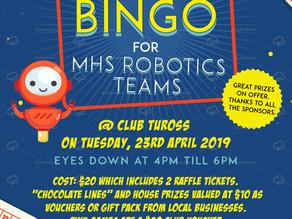 Fundraising for Robotics at MHS