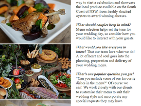 Mr Bold featured in Vol 15 of The Wedding Playbook