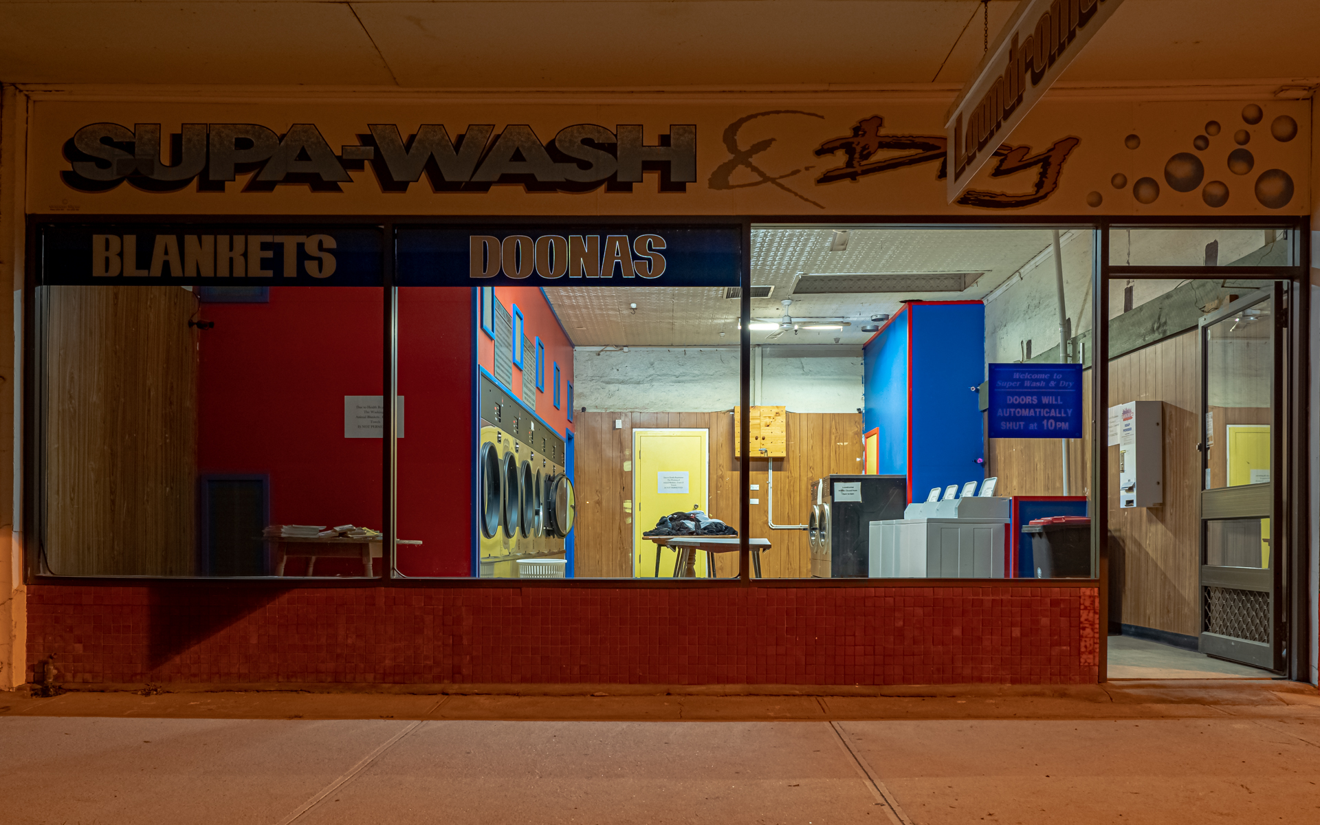 Supa-Wash (After Edward Hopper)