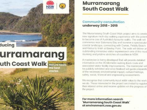 Murramarang South Coast Walk Community consultation underway