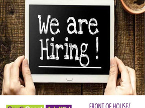 Position Vacant – Front of House/Administration Support Position. Closes Jan 19th