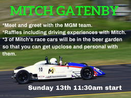 Mitch Gatenby Motorsport will be in the Bay June 13th