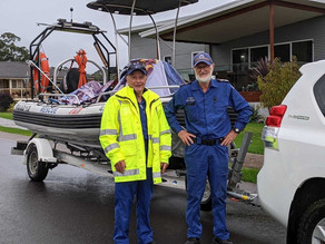 Tuross and Batemans Bay join Regional volunteers boost Sydney flood emergency operations