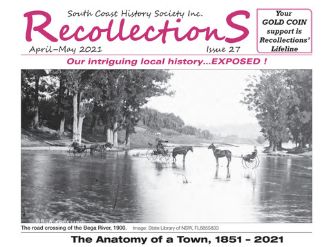 June July 2021 issue of 'Recollections' is OUT NOW