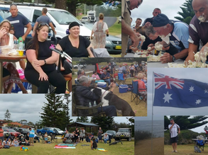 Tuross Fisho's Australia Day