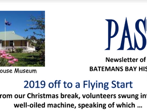 Latest Pastimes newsletter out now