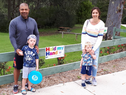 More 'Hold my hand' signs installed