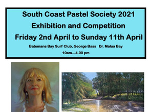 South Coast Pastel Society 2021 Exhibition and Competition.