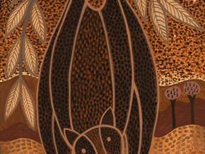 NGARANGGAL MURUDA (Women's Footprints) at The Bas