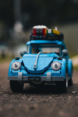 Volkswagen Beetle by Daniel Bateman