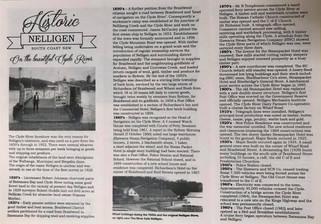 New Historic Nelligen brochure