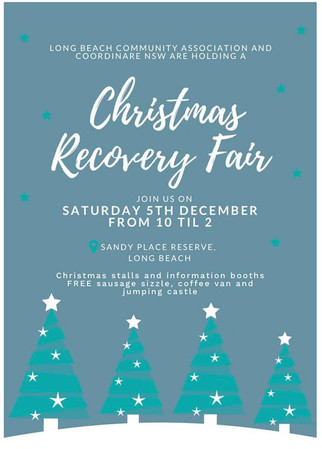 Long Beach Christmas Recovery Fair Dec 5th