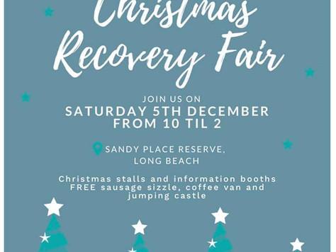 Long Beach Christmas Recovery Fair Dec 5th