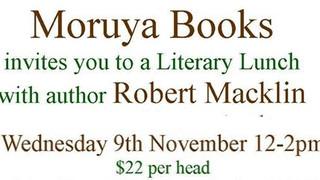 Robert Macklin Literary Lunch