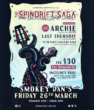 The Spindrift Saga set to return to Smokey Dan's Friday 26th of March