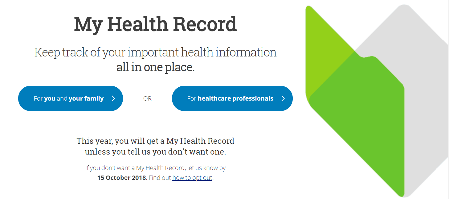 My Health Record Opt Out Closes