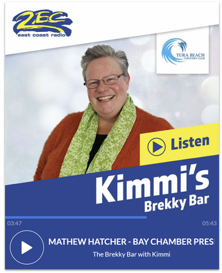 2EC's Kimmi uncovers all that is happening in Batemans Bay with Mathew Hatcher