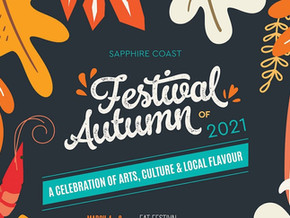 Introducing...the Sapphire Coast Festival of Autumn