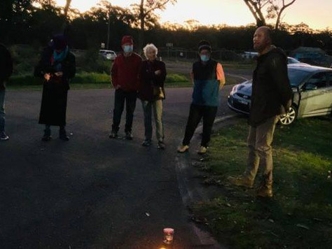 Vigil for Broulee Bangalay Forest