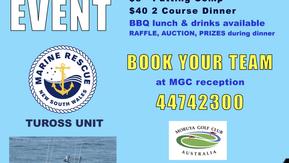 Marine Rescue Tuross Charity Golf Event