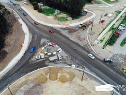 Tomakin roundabout on George Bass Drive update