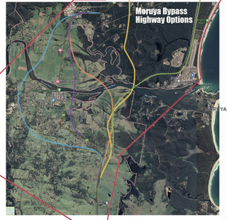 Submission to council Moruya Bypass 22nd June 2021 : Keith Dance