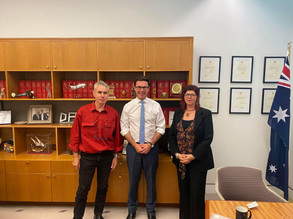 Bushfire Survivors Meet With David Littleproud To Call For Action On Royal Commission