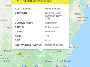 FIRE: The River Rd, Nelligen
