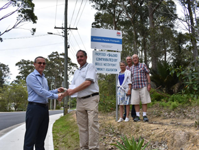 Partnership cuts a path in Mossy Point