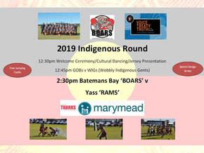Rugby 2019 Indigenous Round in the Bay July 6th