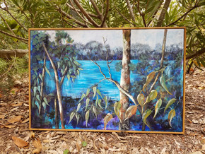 Featured Artist at The Gallery Mogo: Sheryl Miller