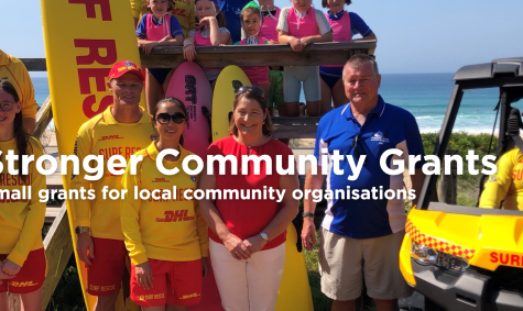 Stronger Communities Grants Now Available