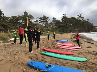Swell Program kicks off for teenagers from bushfire-affected communities across the region