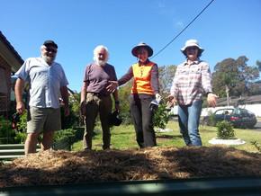 New veggies beds for bushfire affected gardens