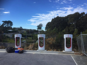 Narooma Plaza steps up to be the Super charged Electric Highway's missing link