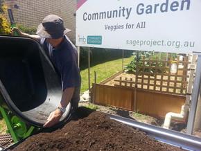Community garden vege beds available now in Moruya