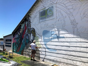 New Mural to Batemans Bay