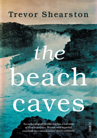 South Coast Caves feature in new thriller from Trevor Shearston