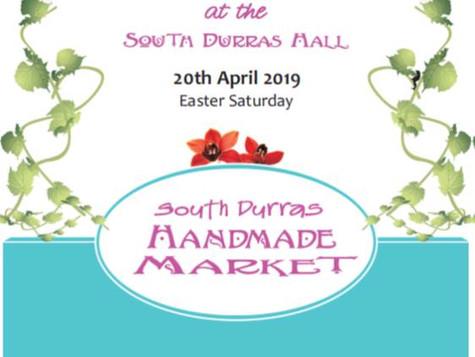 South Durras Handmade Market Easter Saturday 20 April!