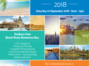 Travel Expo Batemans Bay Sep 22nd