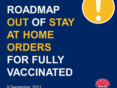 Roadmap To Freedom Unveiled For The Fully Vaccinated