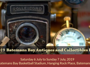 ​Batemans Bay Antiques and Collectibles Fair July 6th and 7th