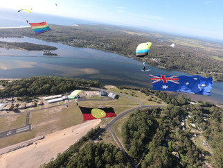 Over 80 Skydivers came together over the Australia Day Weekend